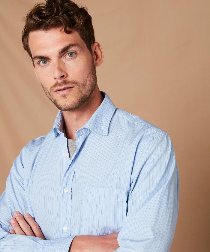 Striped cotton Paul regular shirt
