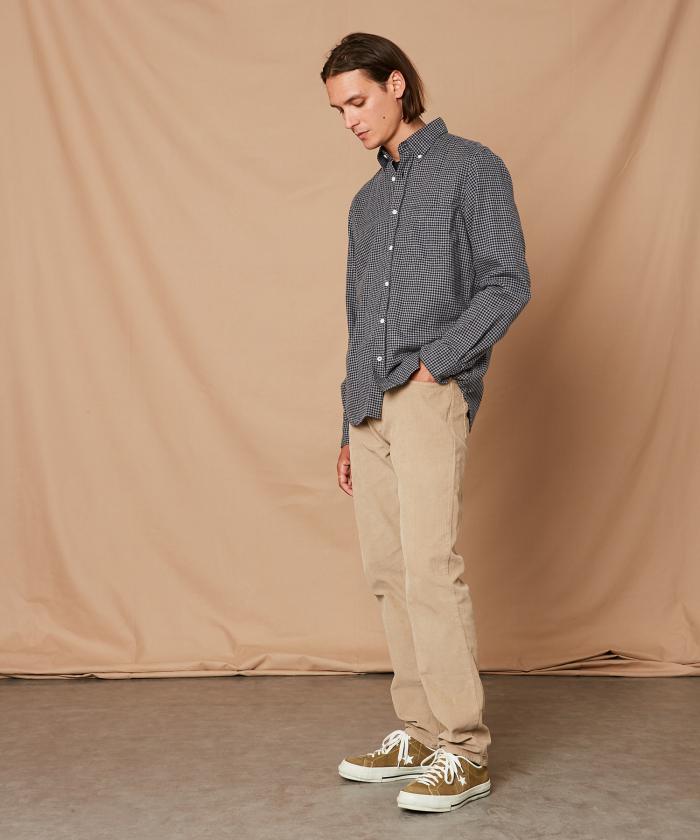 Gingham flannel Pal regular shirt