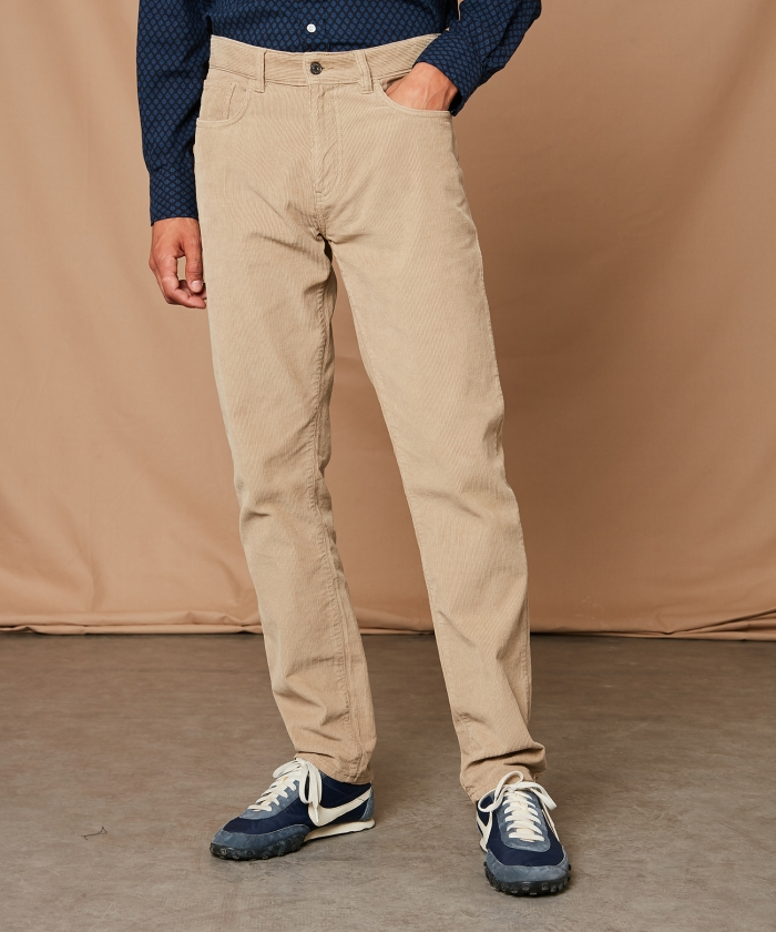 Cotton 5-pockets Tim pants