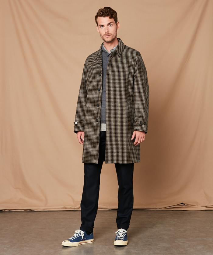 Houndstooth Conway coat