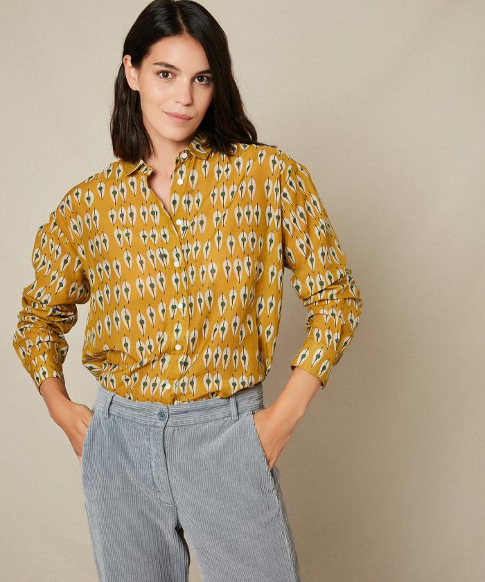 Gipsy print Charlot shirt