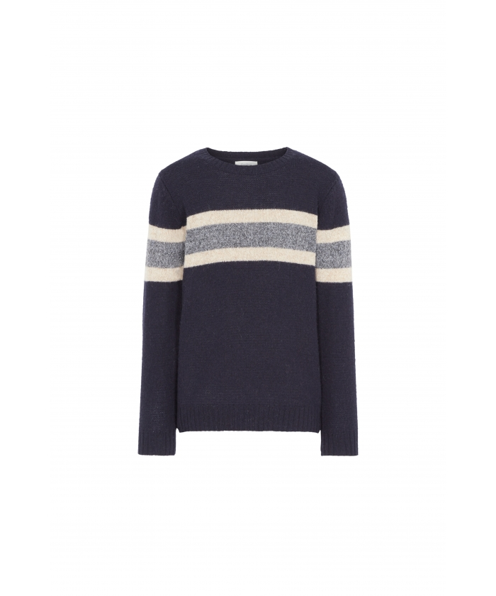 Navy rugby wool sweater