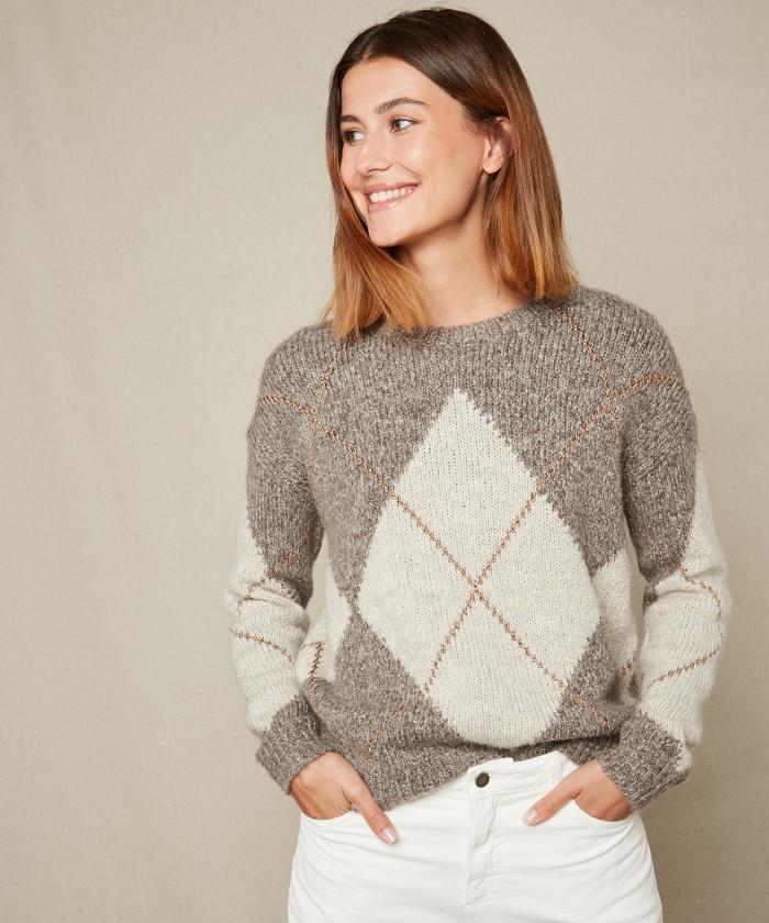 Matory jacquard sweater