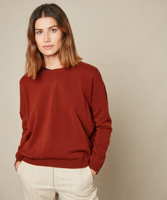 Spice brown Maonie sweater