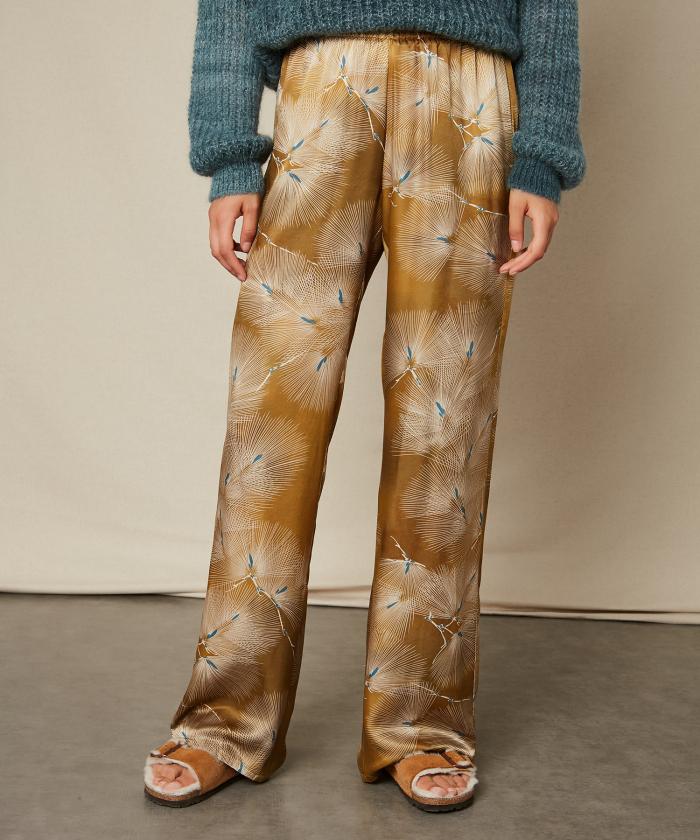 Japanese print Plaisance pants