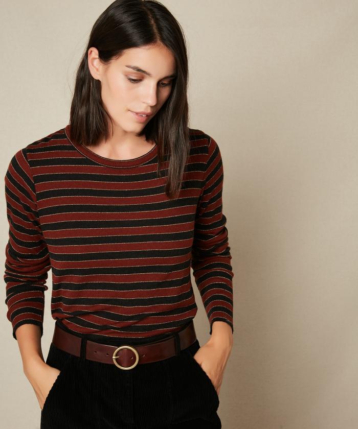 Tahal striped tee-shirt