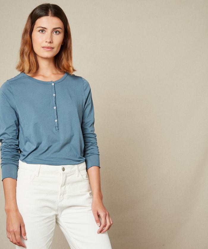 Taormina blue light jersey t-shirt