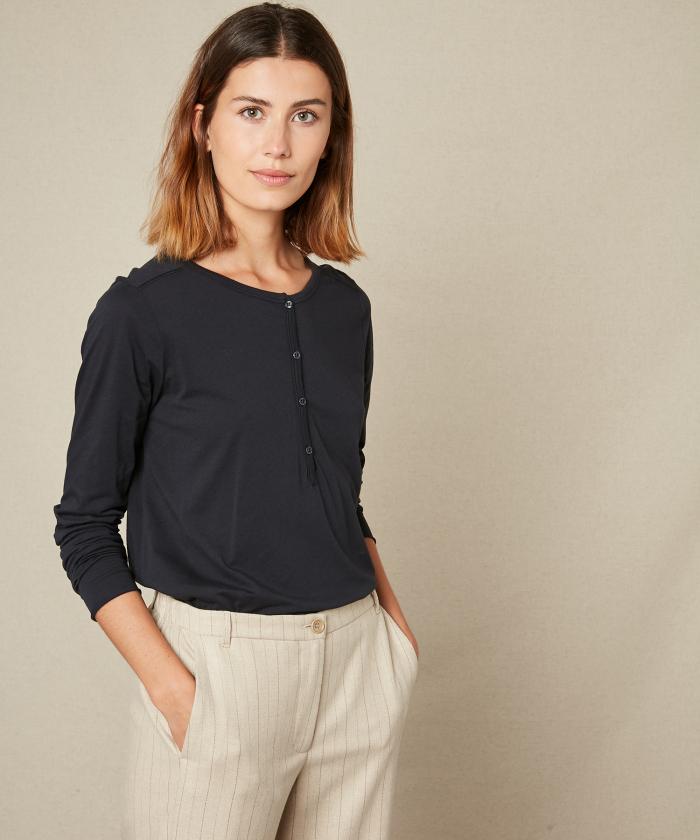 Taormina grey light jersey t-shirt