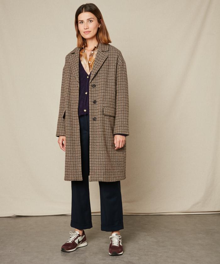 Houndstooth Vasco coat