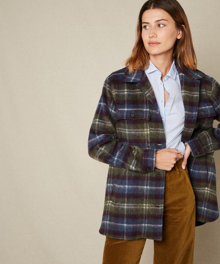 Manteau Vico en laine