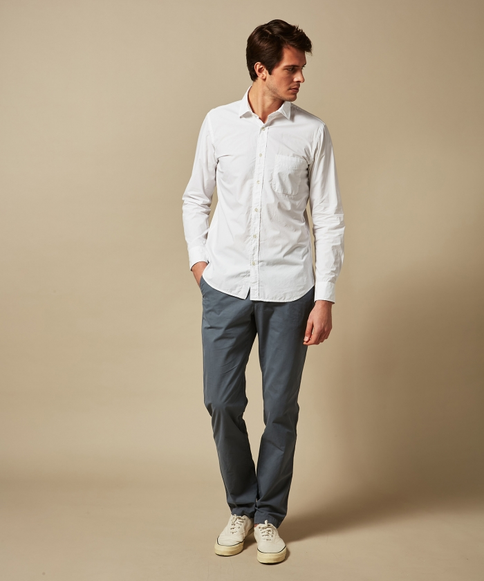 Light poplin Storm slim-fit shirt