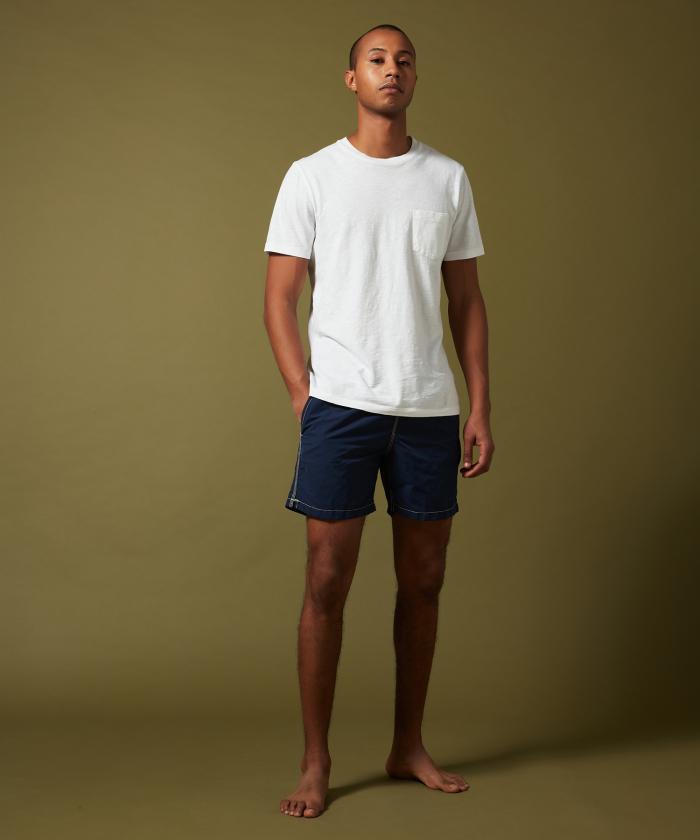 Navy solid classic Swim shorts