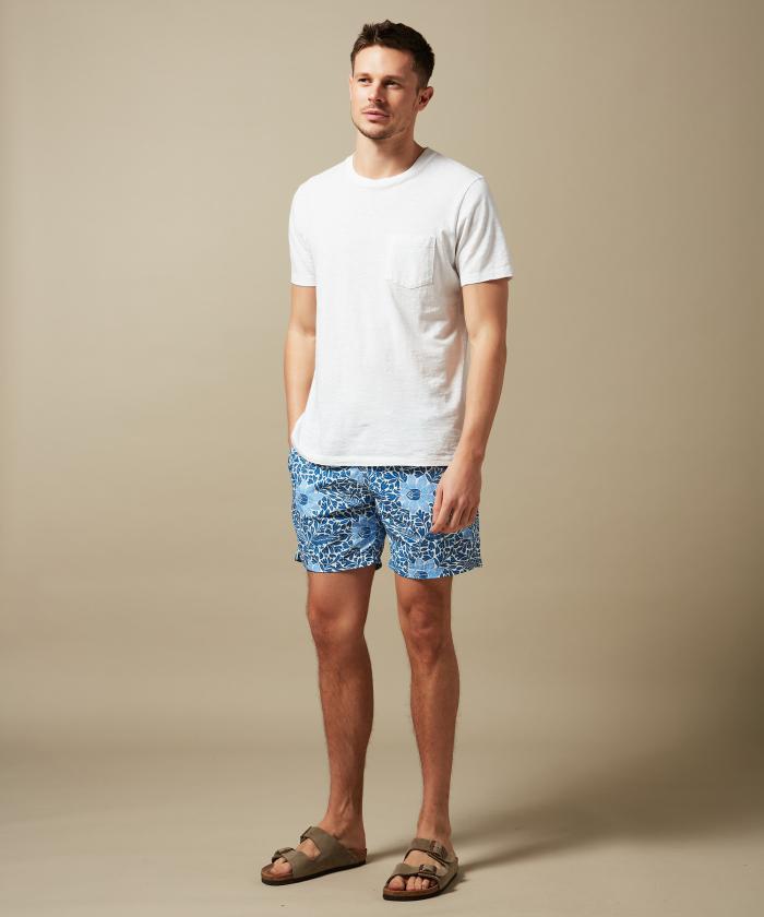 Nenuphar print Swim shorts