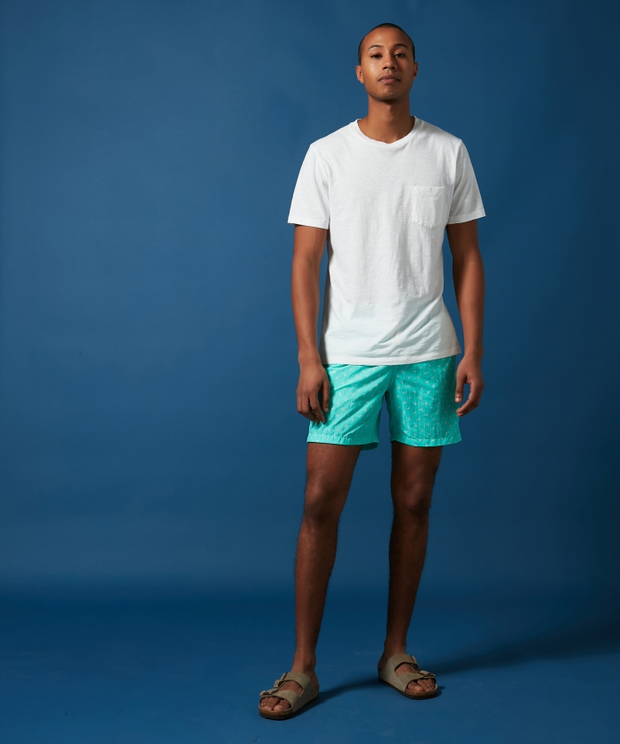 Aqua palmito Swim shorts