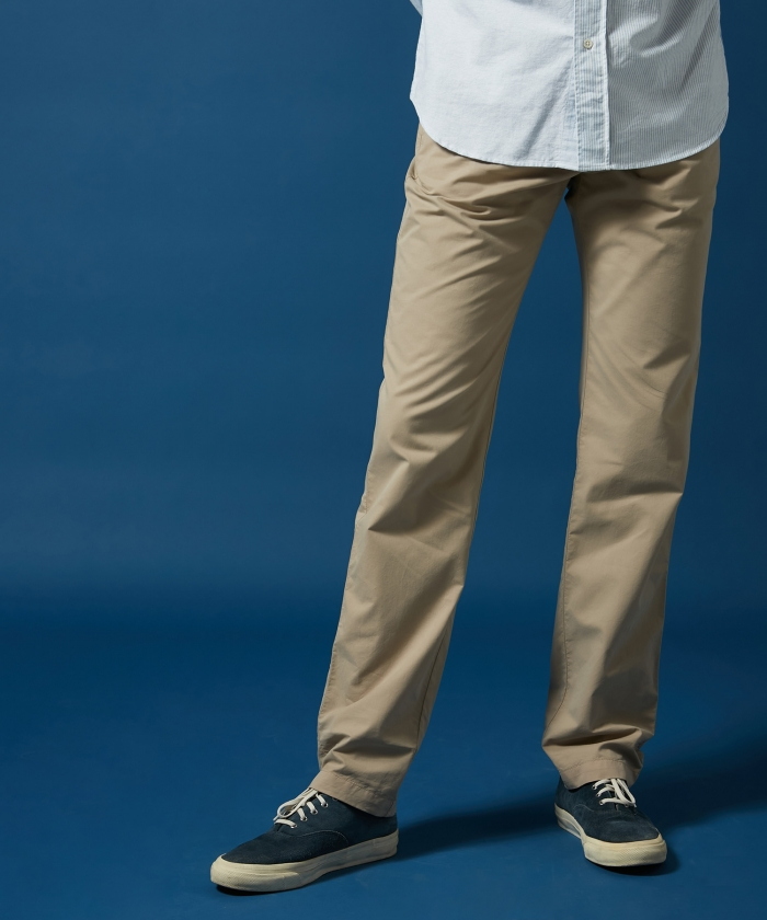Light cotton twill Tobby pants in Dune