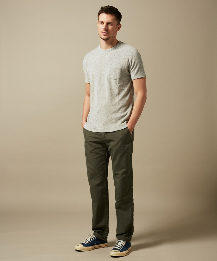 Cotton and linen Tobby pants