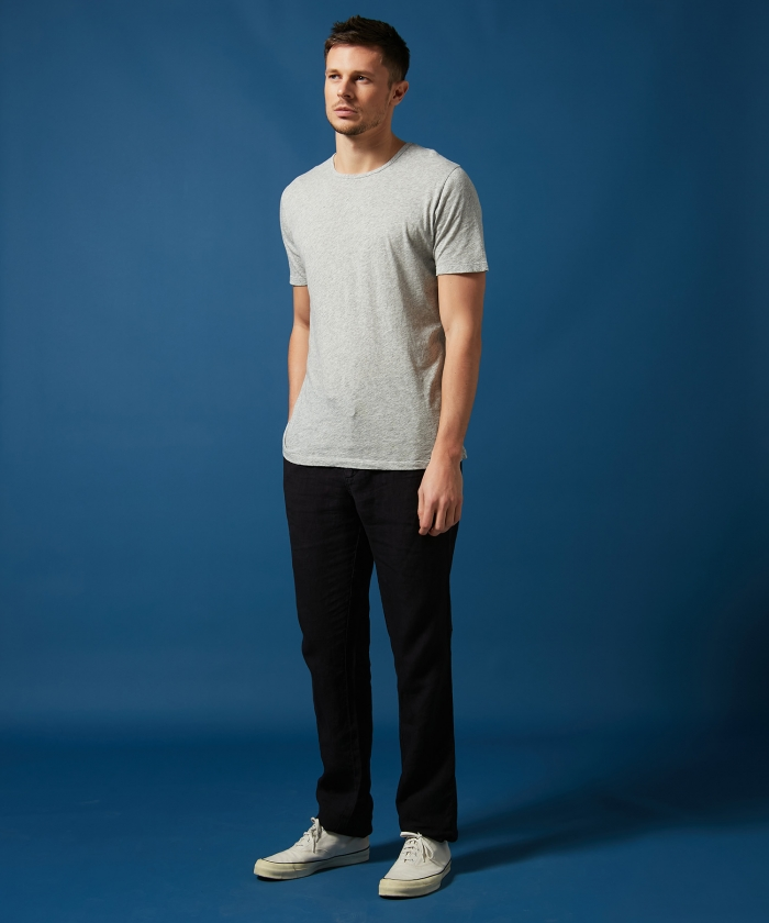 Charcoal linen Tanker easy pants