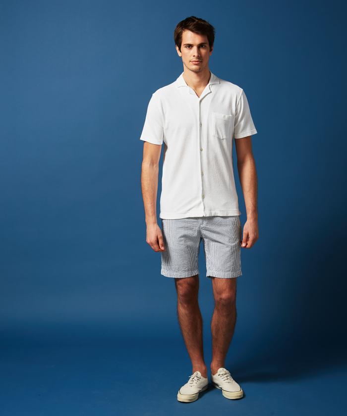 Polo chemise en éponge