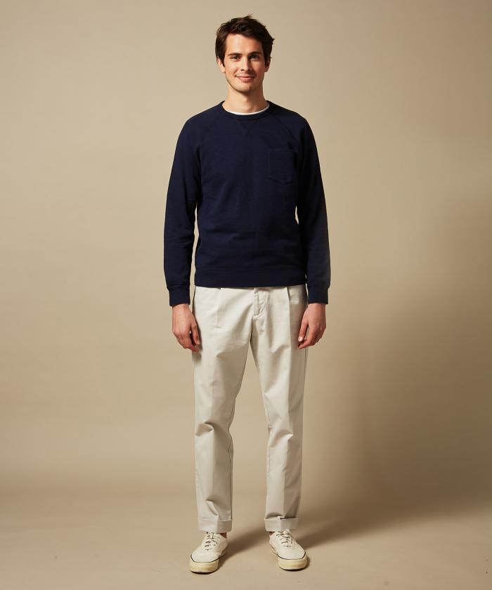 Sweatshirt raglan marine