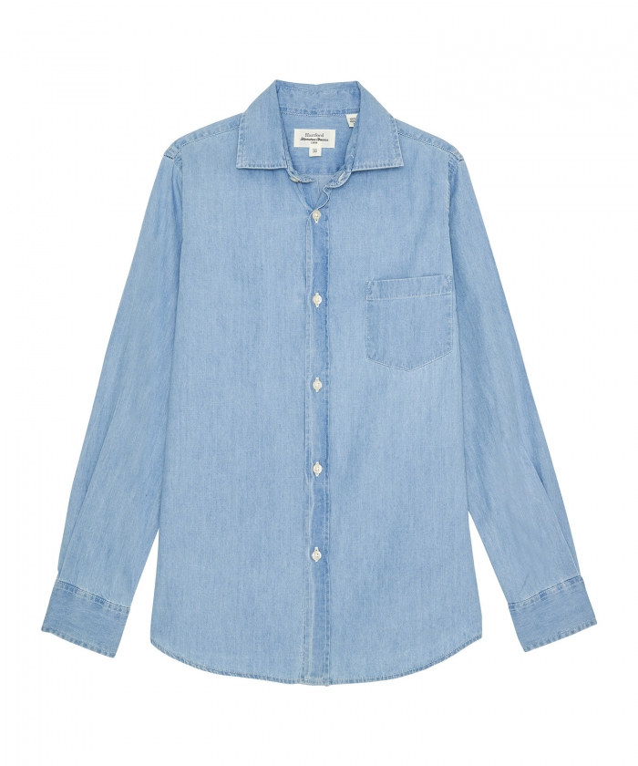Summer denim Paul kids shirt