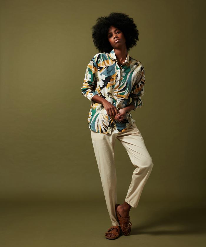Charlot floral shirt