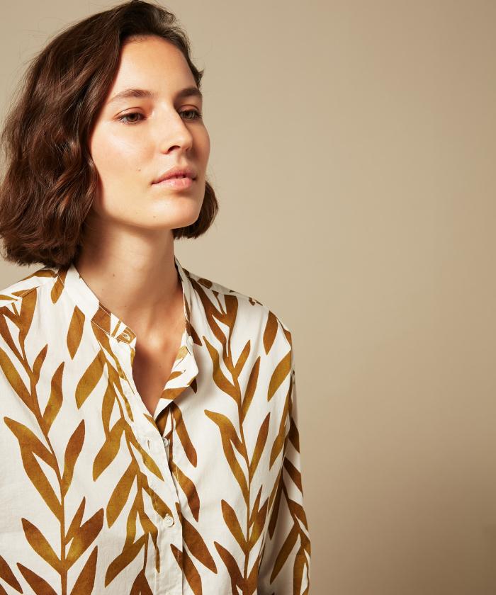 Bronze lianas Cristal shirt