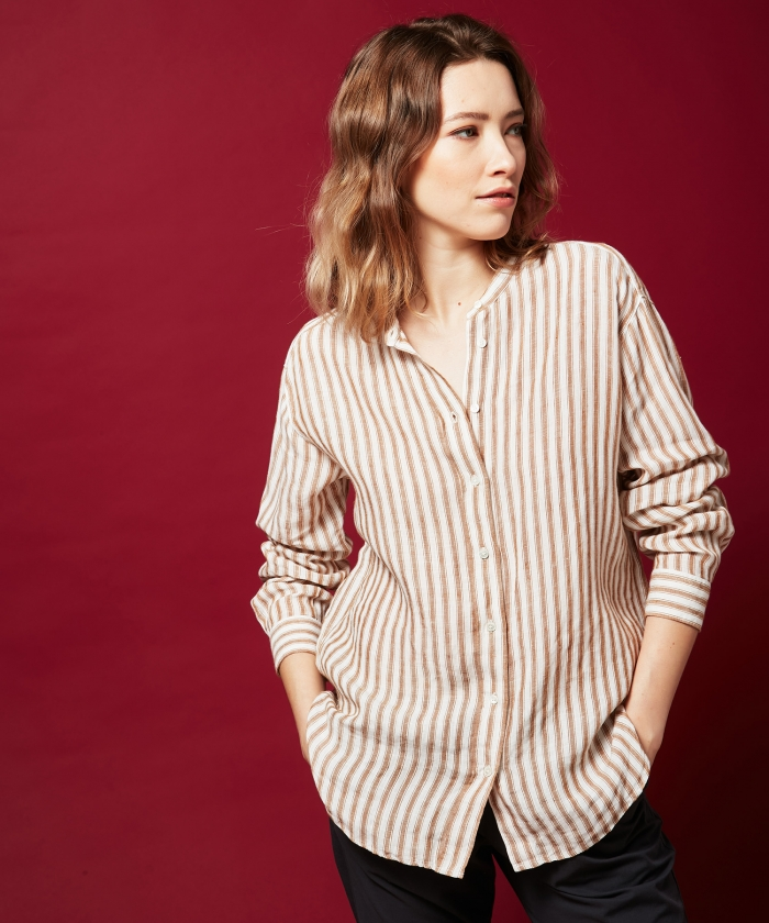 Peanut stripes Cristal shirt