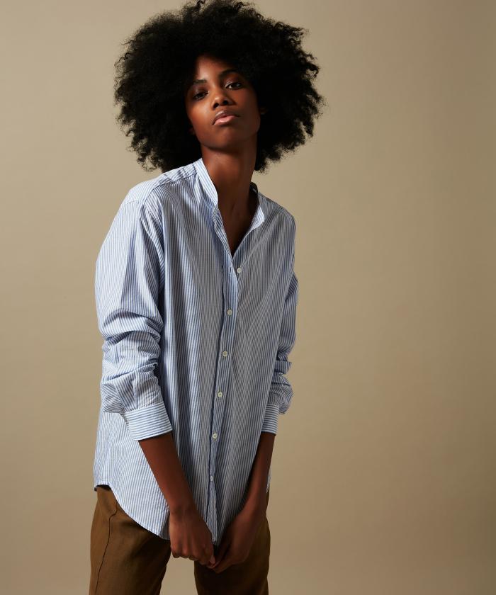 Blue stripes Cristal shirt
