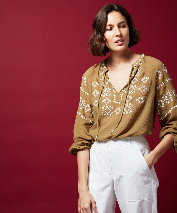 Halys embroidered blouse