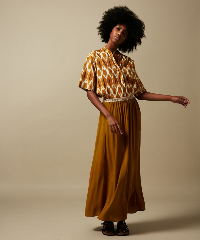 Peanut Juillet long skirt