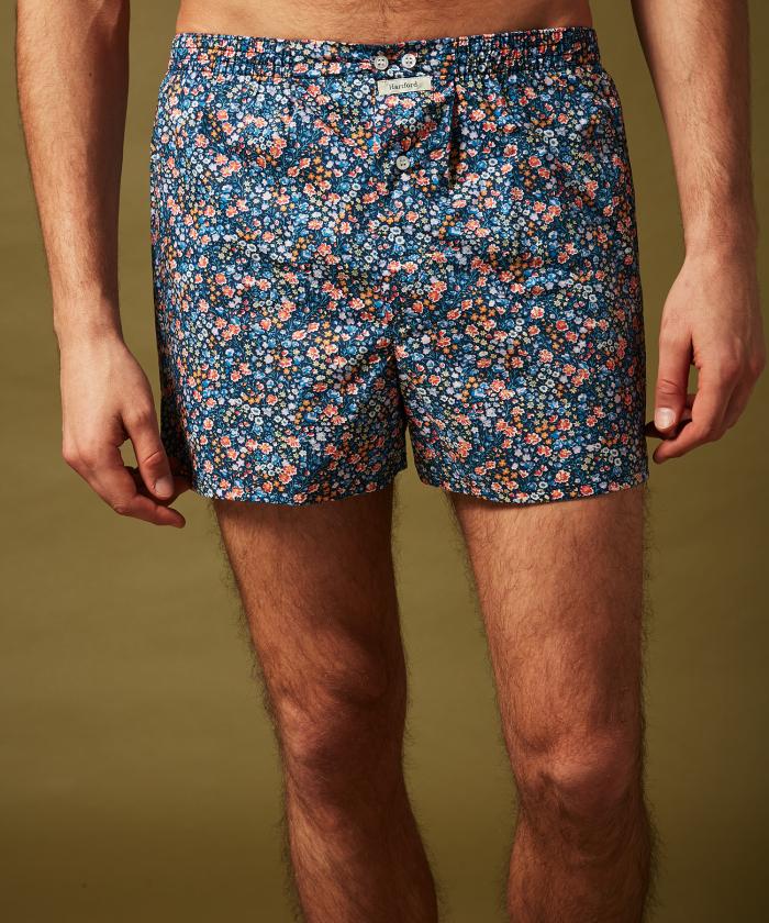 Liberty print boxer shorts