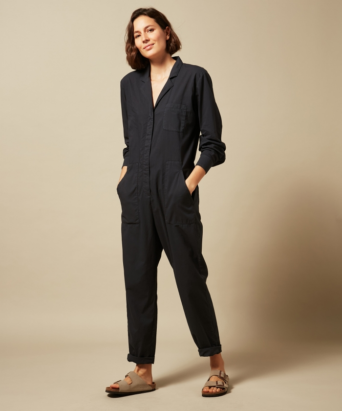 Pasty jumpsuit in charcoal