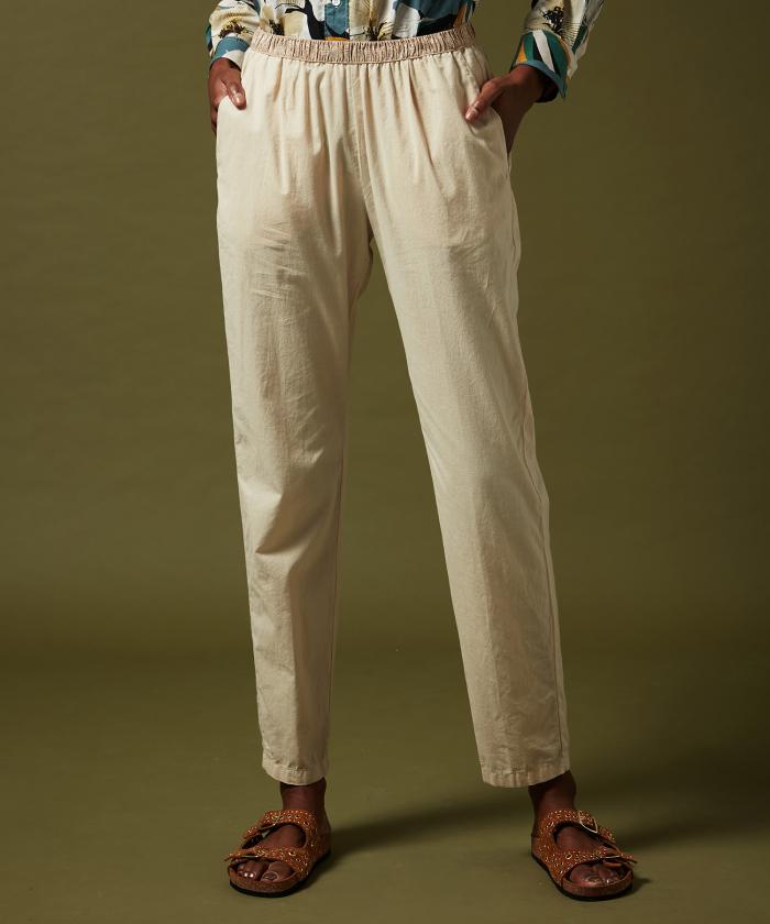 Sand cotton Pove pants