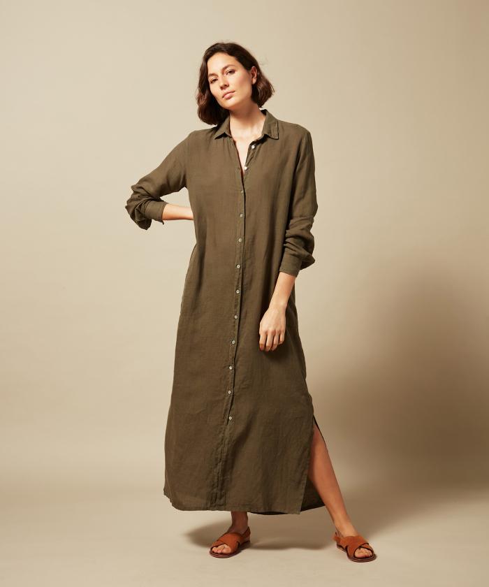 Linen Reaction dress