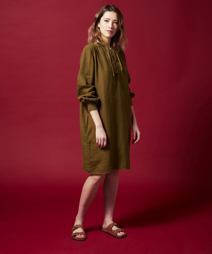 Robe Reference en lin Yucca