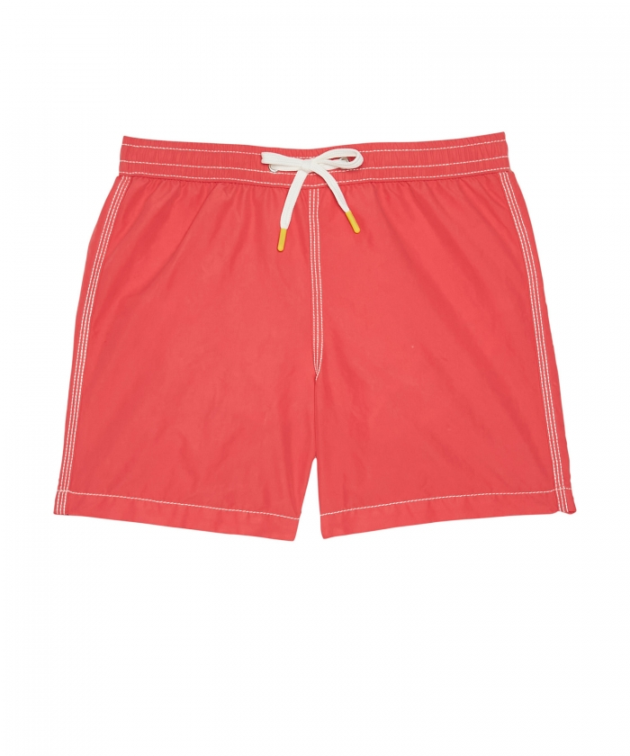 Red Achille swim shorts
