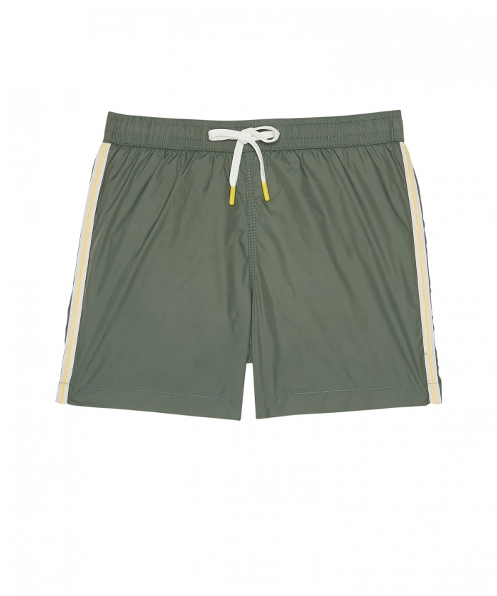 Army lightweight striped Achille shorts