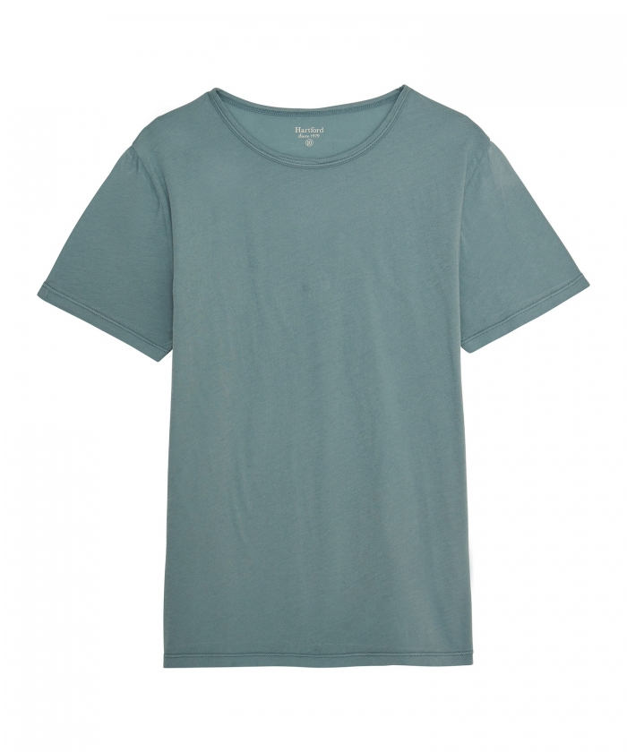 Verdigris light jersey tee-shirt for kids