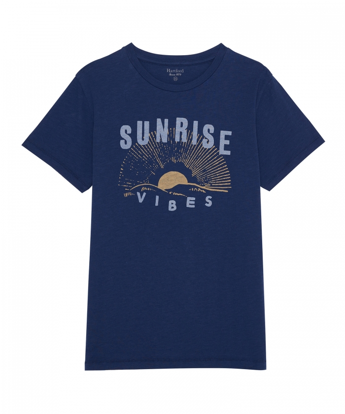 Tee-shirt kid bleu 'Sunrise'
