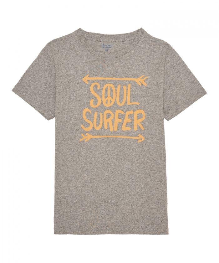 Tee-shirt kid gris logo 'Soul Surfer'