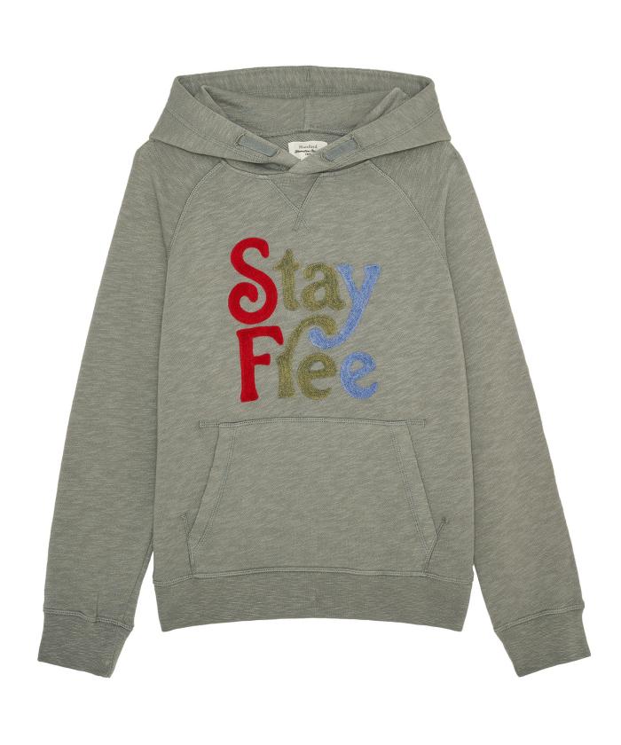 Sweatshirt à capuche 'Stay Free'