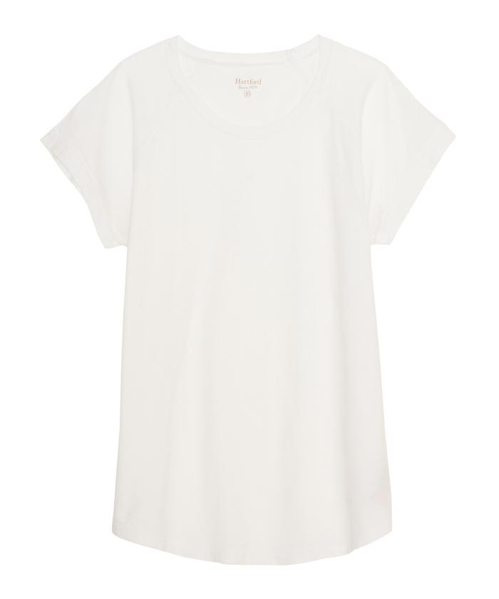 Tee-shirt Telly en coton blanc