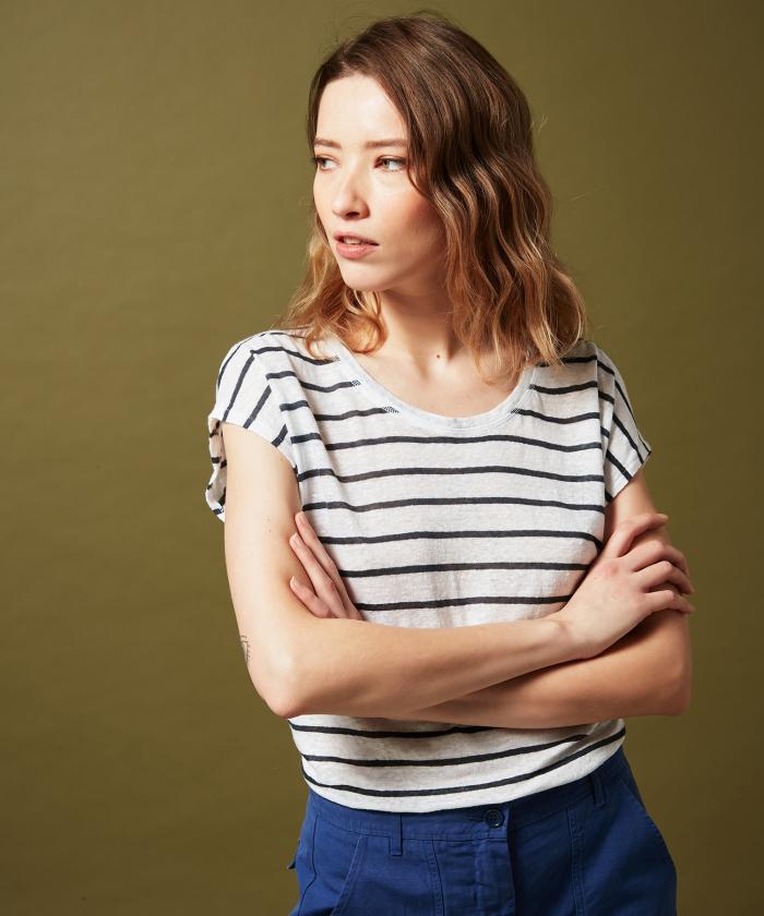 Tee-shirt à rayures Telmo