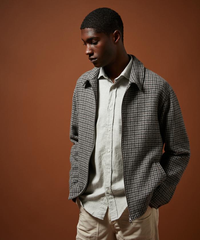 Blouson Desmond en laine recyclée