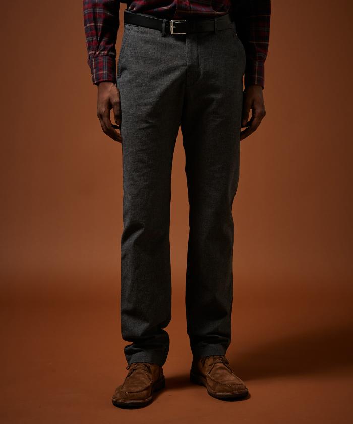 Pantalon Tobby pied-de-poule surteint gris