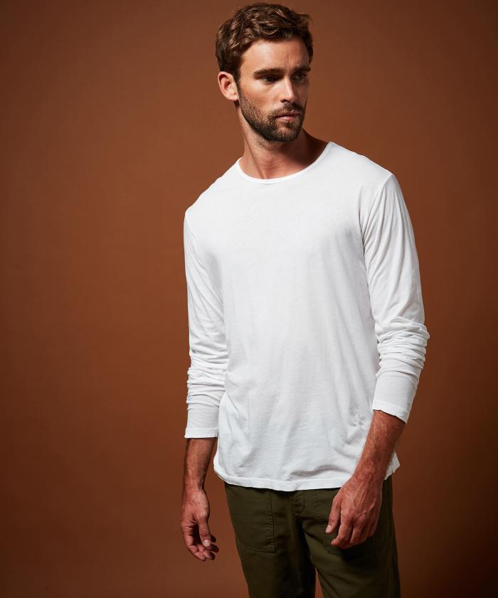 T-shirt en light jersey blanc