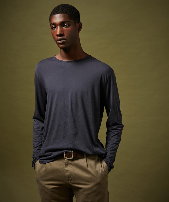 T-shirt en light jersey carbone