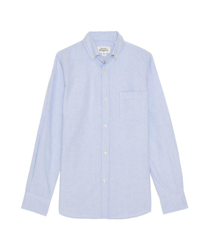 Blue oxford Pitt kids shirt