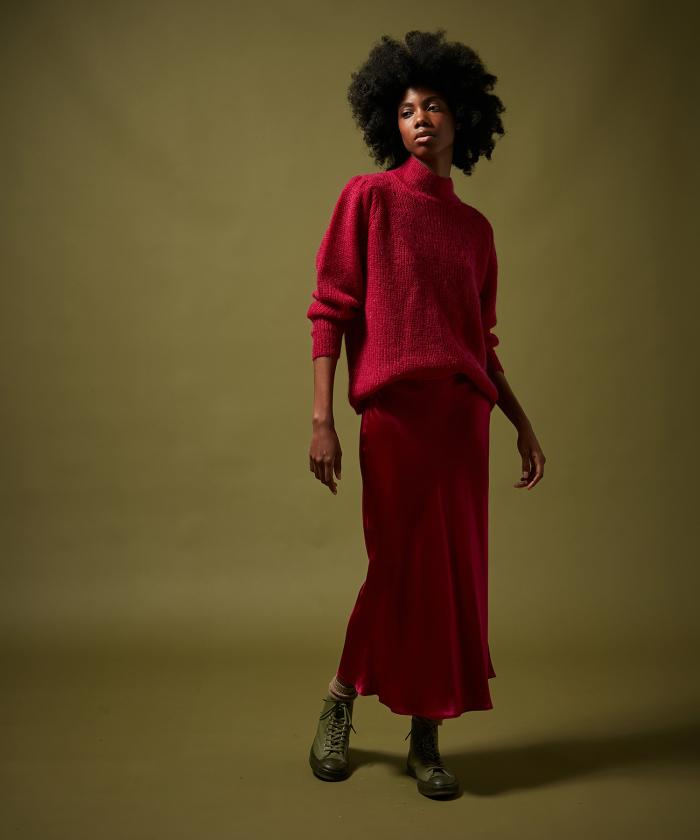 Berry Jill skirt