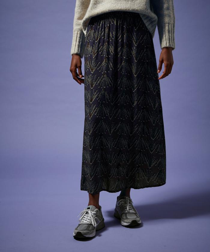 Blue palms Joana skirt